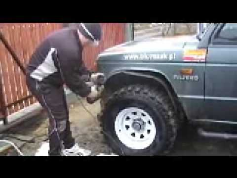 Mitsubishi PAJERO 4x4 OFF ROAD Kryspinow - YouTube