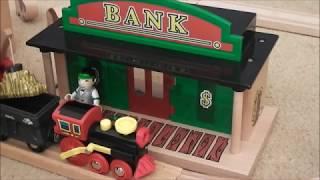 BRIO Train Wild West! Fun Video for Kids!