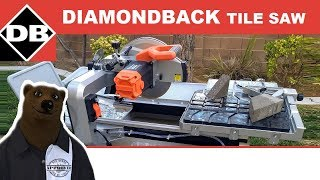 "Diamondback 10"" Tile Saw (Setup & Review)"