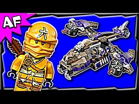Lego Ninjago Condrai Copter Attack 70746 Stop Motion Build Review video