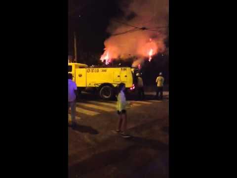 Incendio en chalet de Sant Pere De Ribes