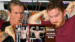 Hrithik Roshan Body Transformation for WAR | REACTION!!