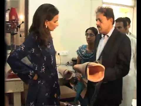 ARTIFICIAL LIMBS - MAHEEN MUSTAFA - DAWNNEWS Video