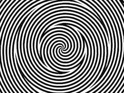 Ilusão de ótica espiral