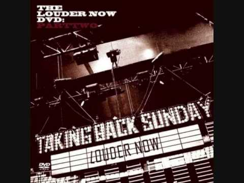 the first demo of Taking Back Sunday's newest single...i think... Twenty Twenty Surgery! enjoy...