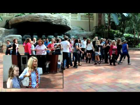Mike & Kristen's Marriage Proposal Flash Mob - Kissimmee, FL
