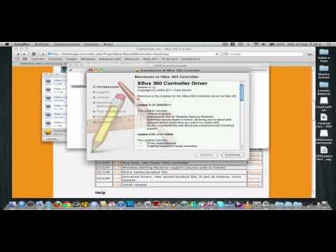 Come usare Controller Xbox360 su Mac