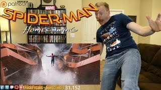 Spider-Man: Homecoming - Official Trailer 1 (Reaction & Review)