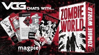 Zombie World RPG Q&A w/Brendan Conway, Magpie Games