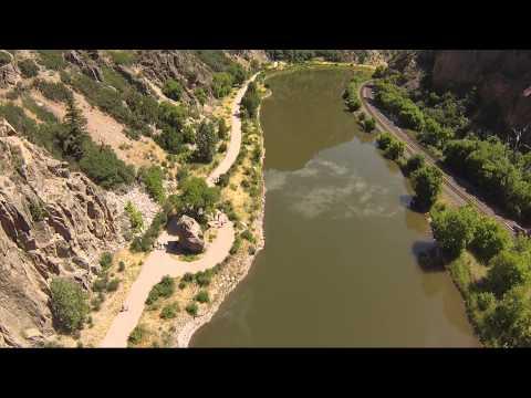 Hanging Lake Hike, Colorado: DJI F550