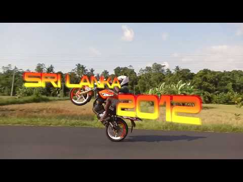 Hikka Nalaka - Stunts on Yamaha KTM Duke 200 - Sri Lanka 2012