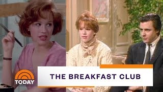 Molly Ringwald And Judd Nelson Talk 'The Breakfast Club' In 1985 | Flashback Friday | TODAY