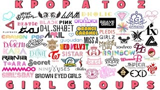 KPop A to Z - GIRL GROUPS [118 GROUPS]