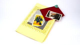 Скрапбукинг-фотоальбом в виде папки своими руками