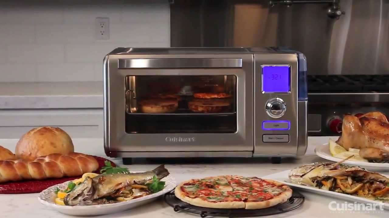 Countertop Steam Oven Reviews : Cuisinart Combo Steam + Convection Oven (CS0-300) Commercial Video ...
