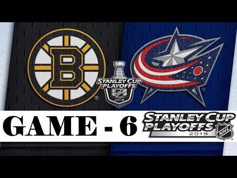 Boston Bruins Vs Columbus Blue Jackets | Second Round | Game 6 | Stanley Cup 2019 | Обзор матча
