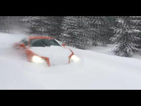 то чувство когда у тебя полный привод зимой :)you have four-wheel drive in the winter