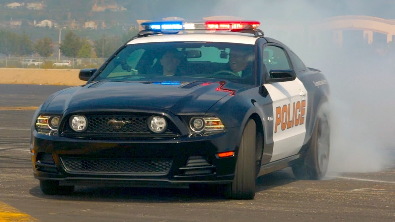 The One With The Ford Mustang 5 0 Police Car World S