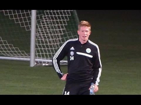 VfL Wolfsburg - Kevin de Bruyne beim Schusstraining