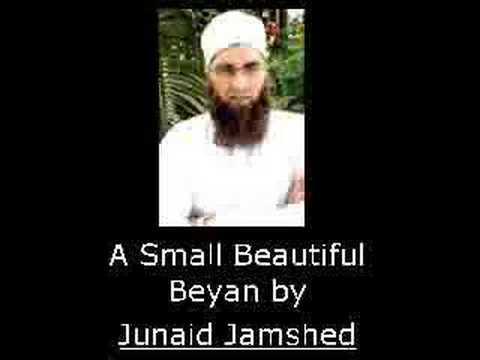 A Small Beautiful Beyan by Junaid Jamshed(Part 1)   (URDU) Music Videos