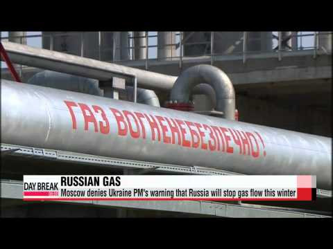 Moscow denies Ukraine PM′s warning that Russia will stop gas flow this winter