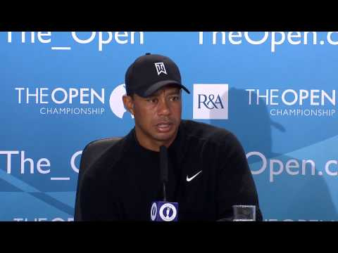Tiger Woods Interview The 2014 Open Championship