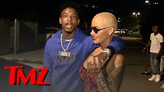 Download 21 Savage, I've Dated Amber Rose Way Longer than You Know | TMZ 3Gp Mp4