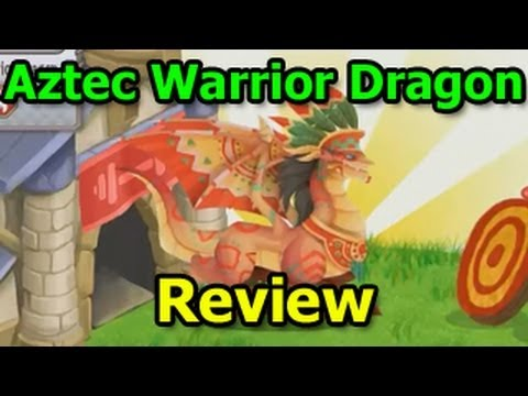 AZTEC WARRIOR DRAGON in Dragon City Aztec Island Review