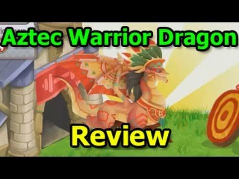 AZTEC WARRIOR DRAGON in Dragon City Aztec Island Review