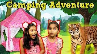 Pari's Picnic in Jungle | Kids Tent House In Jungle | परी की जंगल कैंपिंग