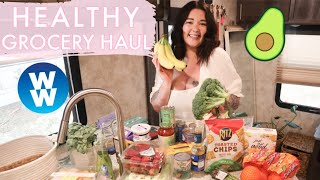 HEALTHY WEEKLY GROCERY HAUL ON WEIGHT WATCHERS TO LOSE WEIGHT!