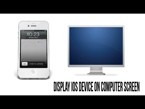 How To Display iPhone. iPad. and iPod Screen On Your Computer