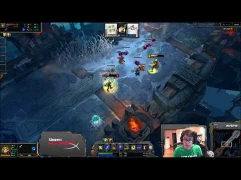 Wildturtle Vs Bjergsen - 1v1 - Showdown - Ezreal
