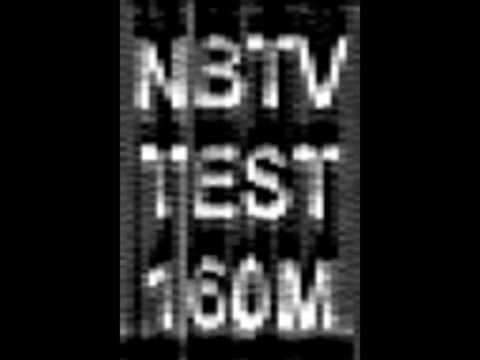 NBTV 160 Meter Test, 1855 kHz, 6 June 2009, Melbourne, Australia, by VK3ASE and VK3AML.