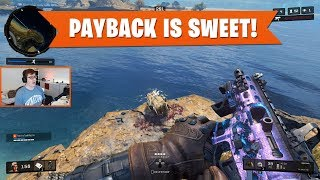 PAYBACK IS SWEET! | Black Ops 4 Blackout | PS4 Pro