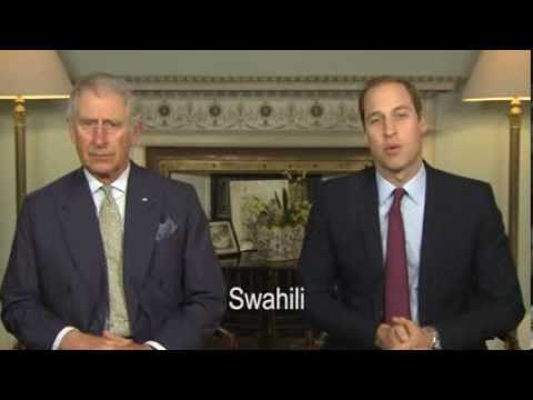 Prince Charles and Prince William Release Video Urging Public To Unite For Wildlife