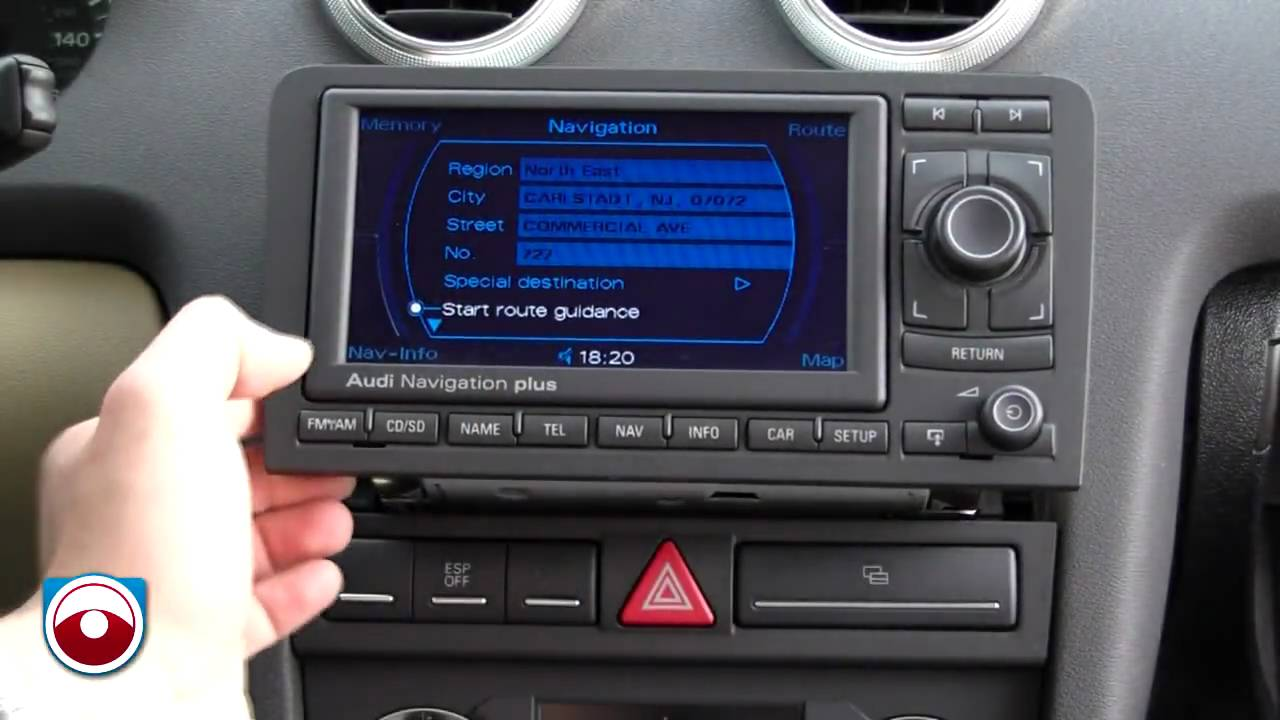 2006 audi a3 navigation radio removal same for 2007 youtube. Black Bedroom Furniture Sets. Home Design Ideas