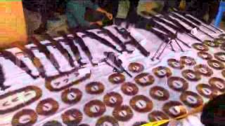 Download Elite force RAB Arms cache found at Satchhari forests in Bangladesh 3Gp Mp4