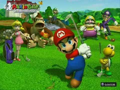 Mario Golf Toadstool Tour Music - Lakitu Valley 2
