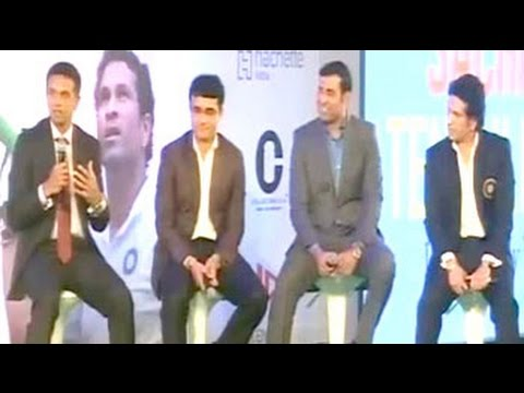 The fantastic 'fab four' of Indian Cricket walk down memory lane
