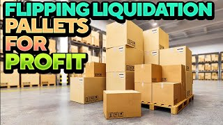 can you make money flipping a Liquidation Pallet? [Online Arbitrage Reselling PROFIT BREAKDOWN]