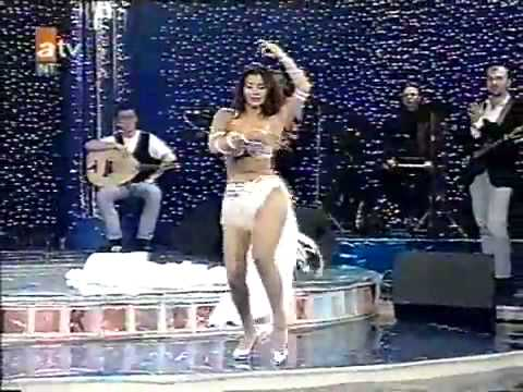 Turkish Belly Dance ,Tanyeli in white - 1993 klip izle
