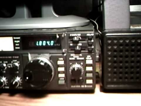 Icom IC-740 Demonstration 160m CW