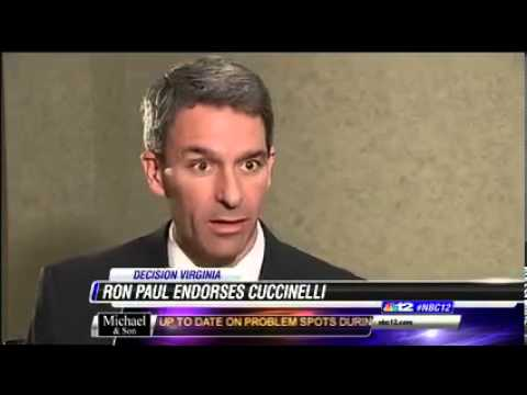 Ron Paul endorses Ken Cuccinelli
