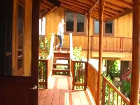 Modern bamboo kit home sanctuary belize part 6 youtube for Modern house 8 part 6
