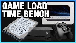 SSD vs. HDD Game Load Benchmarks on Xbox One X