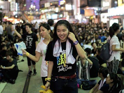 Hong Kong travolta da Occupy Central, Instagram censurato