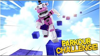 Funtime Freddy's Parkour Challenge!- Minecraft FNAF Roleplay