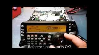 Kenwood TS-480: TCXO unit installation (SO-3 Replica)