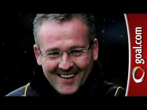 Erasure ringtone interrupts Paul Lambert! Crazy Villa press...